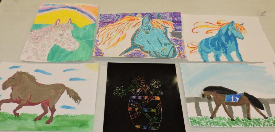 6th grade artwork
